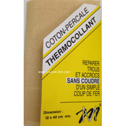 Percale thermocollante